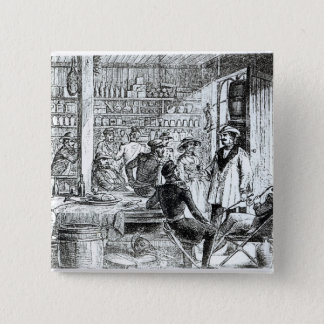 The Meeting of Mary Seacole  and Alexis Soyer 15 Cm Square Badge
