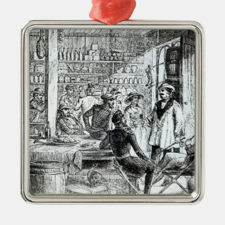 The Meeting of Mary Seacole  and Alexis Soyer Christmas Ornament