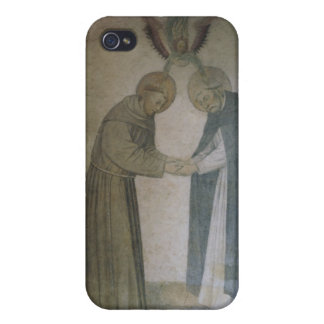 The Meeting of St. Dominic and St. Francis (fresco iPhone 4 Case