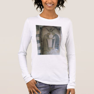 The Meeting of St. Dominic and St. Francis (fresco Long Sleeve T-Shirt