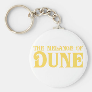 The Melange of Dune Basic Round Button Key Ring
