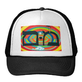 The Mem Letter - Hebrew Alphabet Trucker Hats