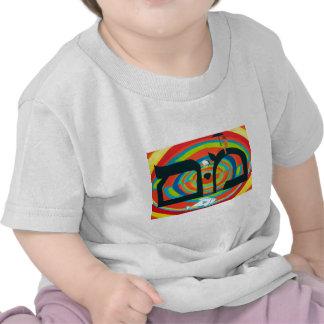 The Mem Letter - Hebrew Alphabet T-shirts
