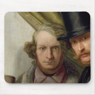 The Members of the Hamburg Artist's Club, 1840 Mouse Mat