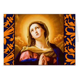 The Memorare Greeting Card