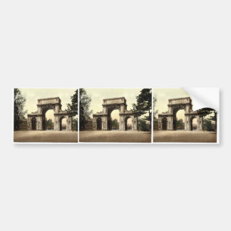 The Memorial Arch, New Brompton, England magnifice Bumper Stickers