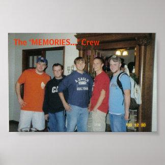 The Memories Crew Poster
