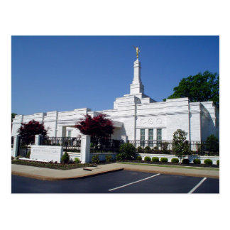 The Memphis Tennessee LDS Temple Postcard