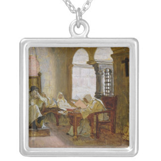 The Men of the Holy Office Silver Plated Necklace
