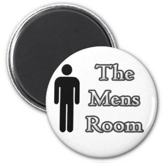 The Men's Room Magnets (B & W)