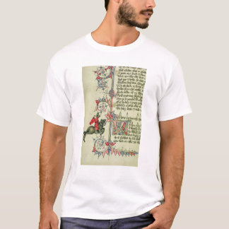 The Merchant, facsimile detail from T-Shirt