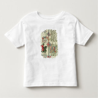 The Merchant, facsimile detail from Toddler T-Shirt