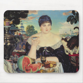 The Merchant's Wife at Tea, 1918 Mouse Pad