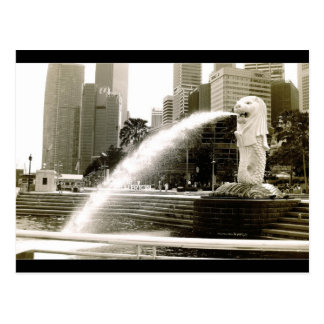 The Merlion Postcard