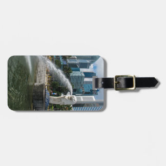 The Merlion Statue, Singapore Luggage Tag