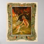 The Mermaid by Charles Robinson Print