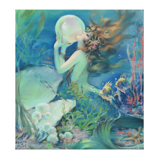 The Mermaid by Henry Clive Canvas Print