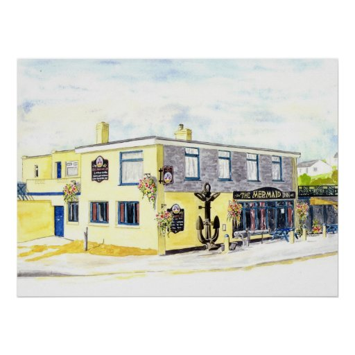 'The Mermaid Inn' Print