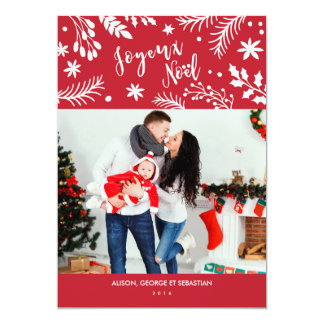 The Merry Christmas connects up photo chart of Card