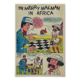 The Merry Mailman in Africa Poster