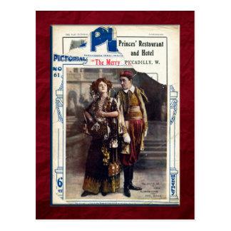 The Merry Widow Postcard