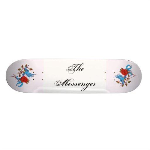 The Messenger Skateboard Decks