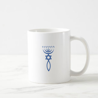 The Messianic Jewish Seal of Jerusalem Basic White Mug
