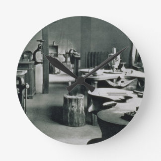 The Metal Workshop, from the Workshops of the Bauh Wallclock