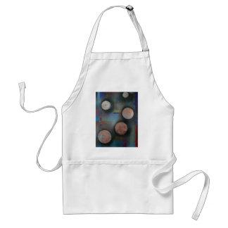 The metallic moons standard apron