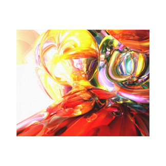 The Method Abstract Stretched Canvas Print