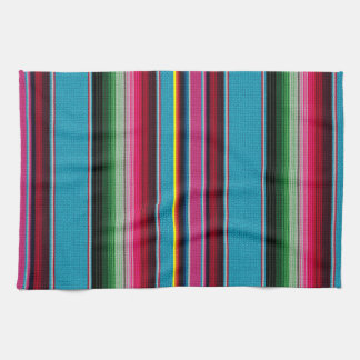 The Mexican Blanket Tea Towel