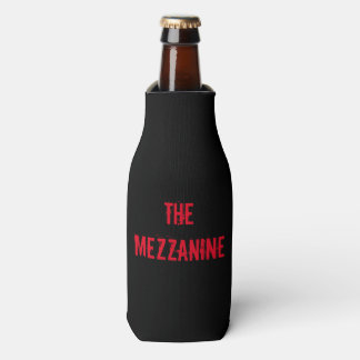The Mezzanine Offical Beer Bottle Coozie