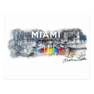 The Miami Line, Rockne Krebs, Postcard
