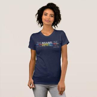 The Miami Line, Rockne Krebs T-Shirt Women's -Navy