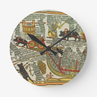 The Mice Bury the Cat, Russian, late 18th century Clocks