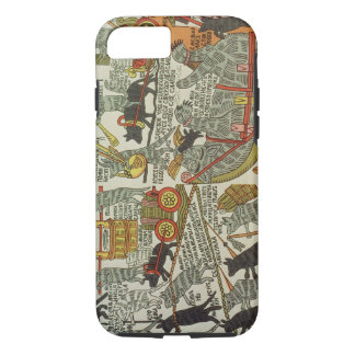 The Mice Bury the Cat, Russian, late 18th century iPhone 8/7 Case