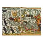 The Mice Bury the Cat, Russian, late 18th century Postcard