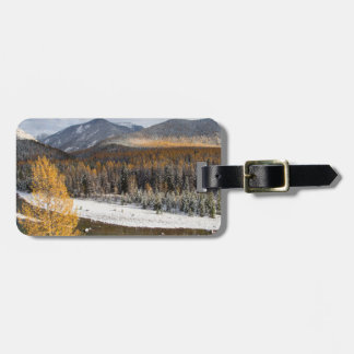 The Middle Fork Of The Flathead River Luggage Tag