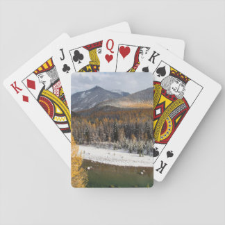 The Middle Fork Of The Flathead River Playing Cards