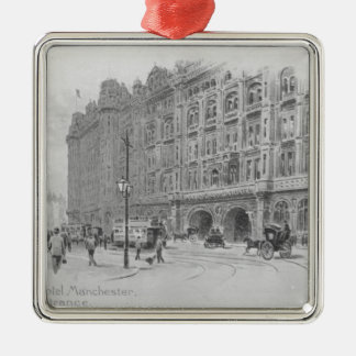The Midland Hotel, Manchester, c.1910 Christmas Ornament