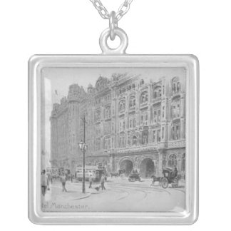 The Midland Hotel, Manchester, c.1910 Silver Plated Necklace