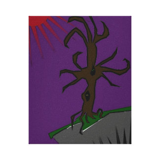 the midnight tree gallery wrap canvas