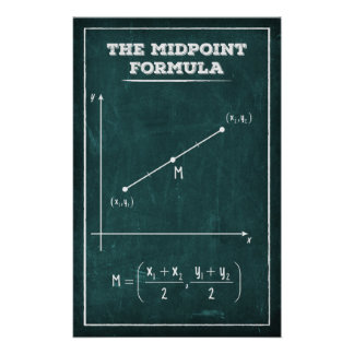 The Midpoint Formula Poster