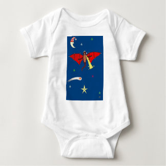 The Mighty Dragon of Drake Baby Bodysuit