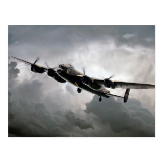 The Mighty Lancaster.jpg Postcard