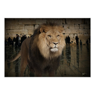 The Mighty Lion Of The Tribe Of Judah Poster