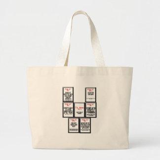 The Mikuru Acts Canvas Bag