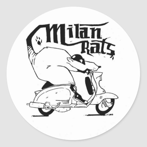 The Milan Rats Sticker