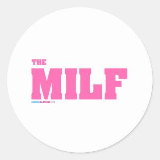 The Milf Round Sticker