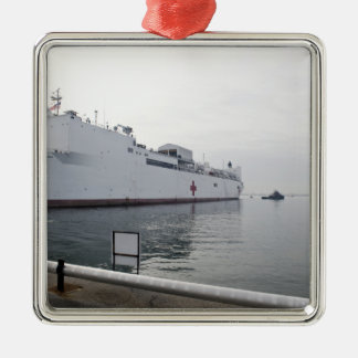 The Military Sealift Command hospital ship Christmas Ornament